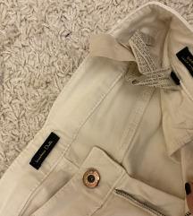 Massimo dutti pantalone krem boje