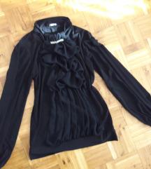 Crna bluza sa karnerima