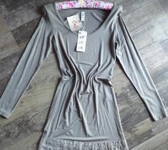 Mala haljina sa cipkom - nova
