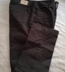 %%%Braon pantalone XS/S poslovne