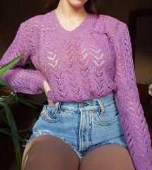 Ljubičasti džemper 💜