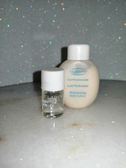 Clarins  body losion i body oil