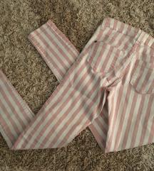 Amisu pantalone roze-bele!SNIZENO