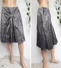 S.Oliver siva midi suknja M/L