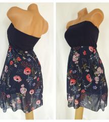 ITALY ❦ teget-cvetna top haljina ❦