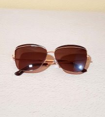 Zlatno-čokoladne naočare za Sunce