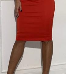 Crvena Blondy haljina