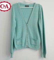 C&A džemper plav sa štrasom, S veličina