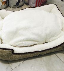 Krevet za velike pse sa dva lica