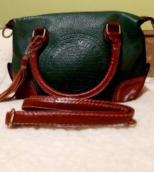 Vintage kozna torba