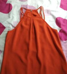 Bluza H&M bratele narandžasta 36