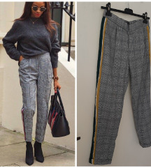 NOVE Zara chino side strip, jesenje pantalone