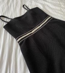 Zekstra crna haljina - novo