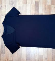 Crna kratka sira haljina