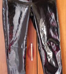 LAKOVANE PVC LATEX pantalone H&M 36 ili S  Nove