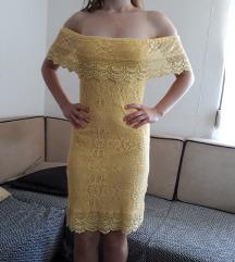 Robin zuta svecana haljina