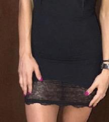 Crna haljina kao steznik