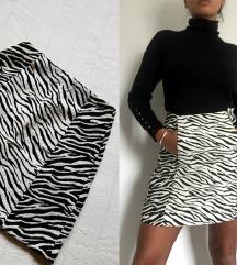 Zara deblja reljefna suknja