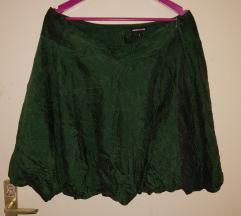Rezz Warehouse green silk size 14