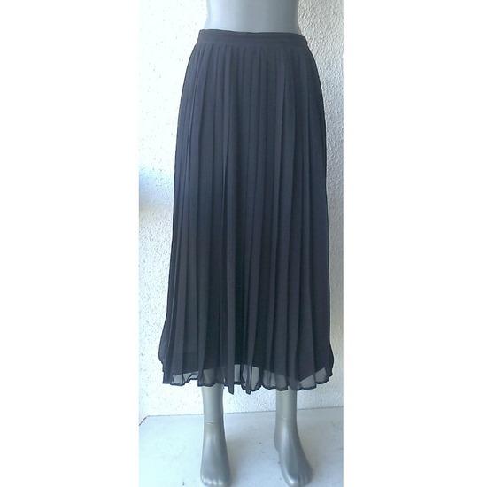 suknja plisitana teget br 40 ili 42