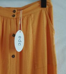 EDC Esprit suknja na kopcanje NOVO