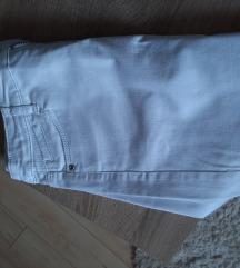 C&A mini bela denim suknja
