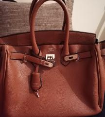 Kozna braon birkin torba