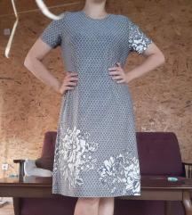 Siva haljina preko kolena