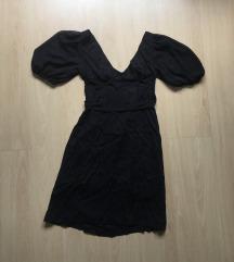 Crna haljina mini