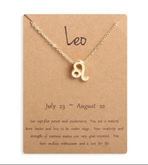 Ogrlica horoskopski znak lav