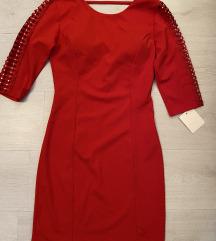 NOVA crvena haljina univerzalna