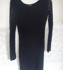crna haljina uska