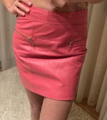 Kozna suknja CLAN/ S velicina