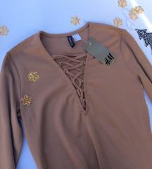H&M krem haljina Nova Velicina 40