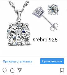 Mindjuse,ogrlica, sat