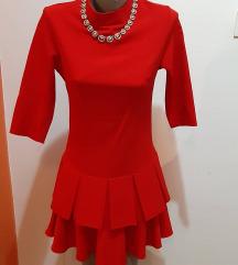 Crvena haljina NOVA