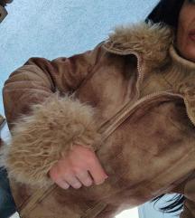 Nude topla jakna sa krznom