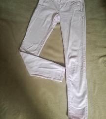 Pastelno roze pantalone