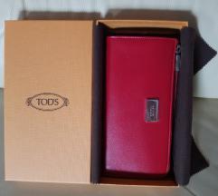Tod's nov kožni novčanik, original