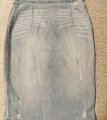 Džins suknja