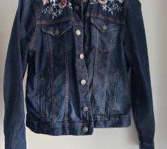 Teksas jakna sa cvetovima