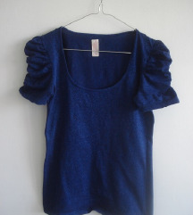 Zara puff  royal blue  S