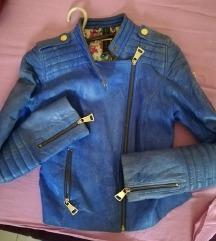 Kožna jakna S