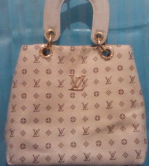 Louis Vuitton torba lak koža platno