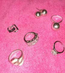 Prstenje i mindjuse srebro