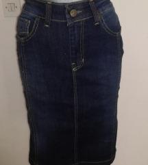 Snizenoo-Teksas suknja