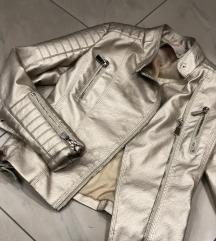 Kozna jakna zlatna