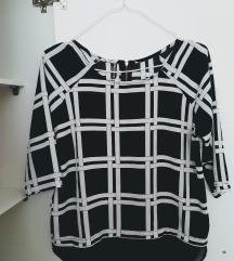 Crno bela bluzica