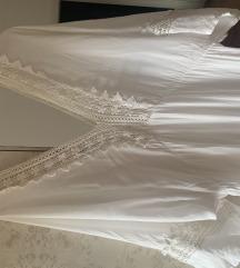 Dugacka bela letnja haljina