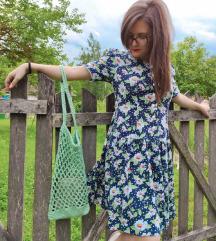 Bela rada vintage haljina